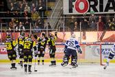 Fredrik Johansson sätter 1-0 till VIK efter bara 1:11 in i matchen.