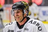 AIK:s Conny Strömberg var frustrerad över sitt spel och visade mycket kännslor.